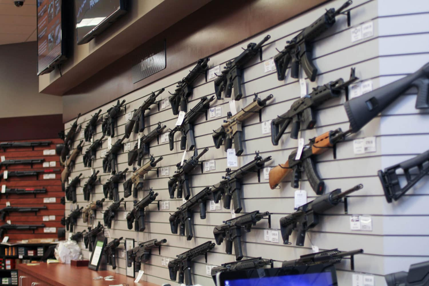 San Diego Gun Store Display